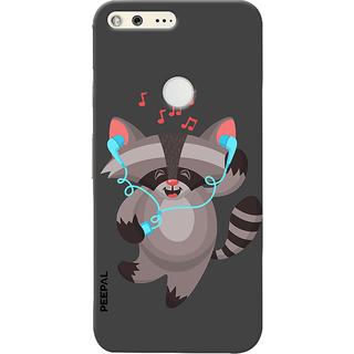 PEEPAL Google Pixel Designer & Printed Case Cover 3D Printing Dancing Cat Design