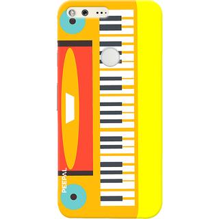 PEEPAL Google Pixel Designer & Printed Case Cover 3D Printing Piano Design