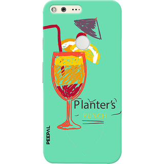 PEEPAL Google Pixel Designer & Printed Case Cover 3D Printing Cocktail Design