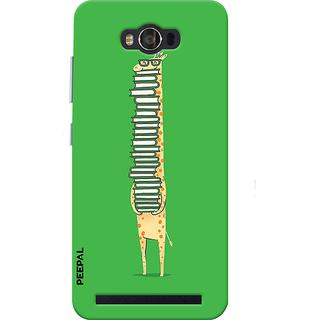PEEPAL Asus Zenfone Max Designer & Printed Case Cover 3D Printing Studying Giraffe Design