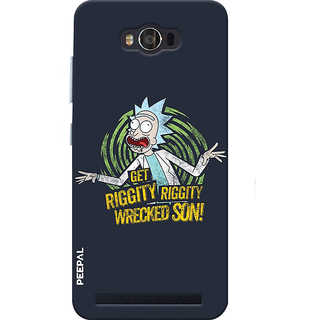PEEPAL Asus Zenfone Max Designer & Printed Case Cover 3D Printing Cartoon Design
