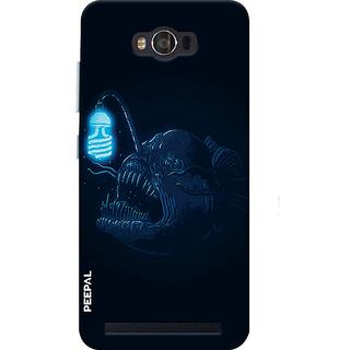 PEEPAL Asus Zenfone Max Designer & Printed Case Cover 3D Printing Demon Design