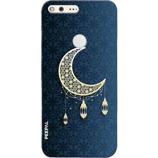 PEEPAL Google Pixel Designer & Printed Case Cover 3D Printing Eid Mubarak Design