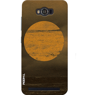 PEEPAL Asus Zenfone Max Designer & Printed Case Cover 3D Printing Beauty Of Sun Design