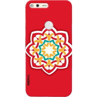 PEEPAL Google Pixel Designer & Printed Case Cover 3D Printing Art Multi Colour Design