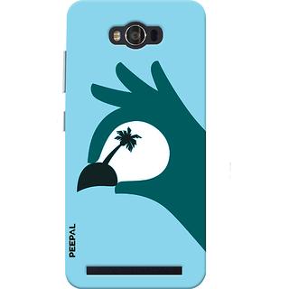 PEEPAL Asus Zenfone Max Designer & Printed Case Cover 3D Printing Vacation  Design