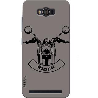 PEEPAL Asus Zenfone Max Designer & Printed Case Cover 3D Printing Rider Design