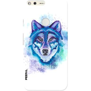 PEEPAL Google Pixel Designer & Printed Case Cover 3D Printing Wild And Free Design