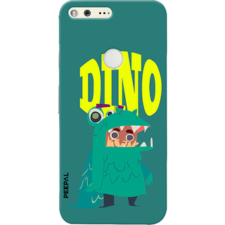 PEEPAL Google Pixel Designer & Printed Case Cover 3D Printing Dino Design
