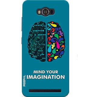 PEEPAL Asus Zenfone Max Designer & Printed Case Cover 3D Printing Technology Vs Art Design