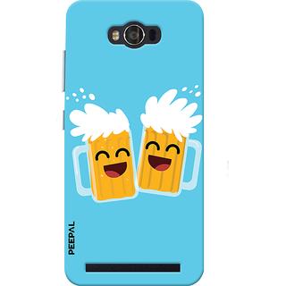 PEEPAL Asus Zenfone Max Designer & Printed Case Cover 3D Printing Bear Buddy Design