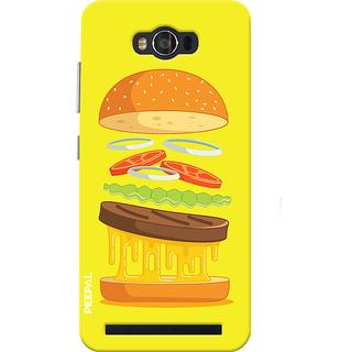 PEEPAL Asus Zenfone Max Designer & Printed Case Cover 3D Printing Food Love Design