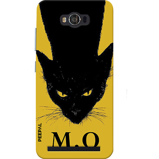 PEEPAL Asus Zenfone Max Designer & Printed Case Cover 3D Printing Meow Design