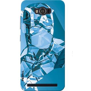 PEEPAL Asus Zenfone Max Designer & Printed Case Cover 3D Printing Crystle Man Design