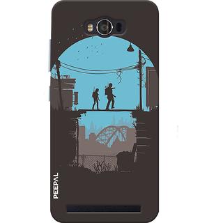 PEEPAL Asus Zenfone Max Designer & Printed Case Cover 3D Printing Survivors Design