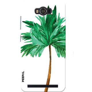 PEEPAL Asus Zenfone Max Designer & Printed Case Cover 3D Printing Tree  Design