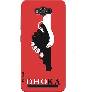 PEEPAL Asus Zenfone Max Designer & Printed Case Cover 3D Printing Dhoka Design