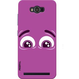 PEEPAL Asus Zenfone Max Designer & Printed Case Cover 3D Printing Sad Design