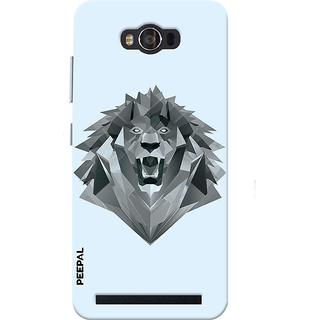 PEEPAL Asus Zenfone Max Designer & Printed Case Cover 3D Printing Demon Lion Design