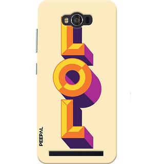 PEEPAL Asus Zenfone Max Designer & Printed Case Cover 3D Printing Lol Design