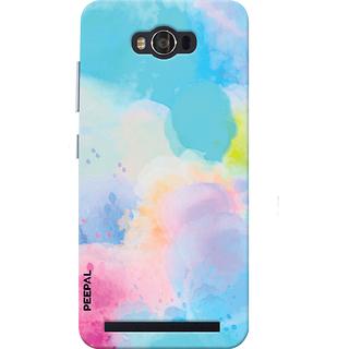 PEEPAL Asus Zenfone Max Designer & Printed Case Cover 3D Printing Art Multi Colour Design