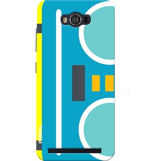 PEEPAL Asus Zenfone Max Designer & Printed Case Cover 3D Printing Cassette Design
