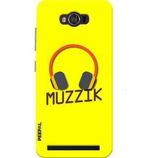 PEEPAL Asus Zenfone Max Designer & Printed Case Cover 3D Printing Music  Design
