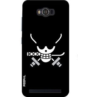 PEEPAL Asus Zenfone Max Designer & Printed Case Cover 3D Printing Pirate Design
