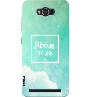 PEEPAL Asus Zenfone Max Designer & Printed Case Cover 3D Printing Above The Sky Design