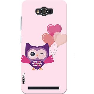 PEEPAL Asus Zenfone Max Designer & Printed Case Cover 3D Printing Ulloo In Love Design