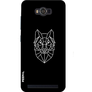 PEEPAL Asus Zenfone Max Designer & Printed Case Cover 3D Printing Designer Lion Design