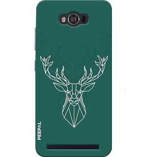 PEEPAL Asus Zenfone Max Designer & Printed Case Cover 3D Printing Designer Deer Design
