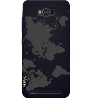 PEEPAL Asus Zenfone Max Designer & Printed Case Cover 3D Printing World Design
