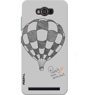 PEEPAL Asus Zenfone Max Designer & Printed Case Cover 3D Printing Paris Design