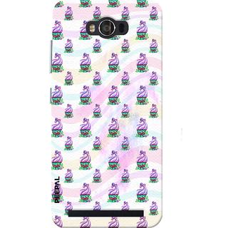 PEEPAL Asus Zenfone Max Designer & Printed Case Cover 3D Printing Ice Cream Love Design