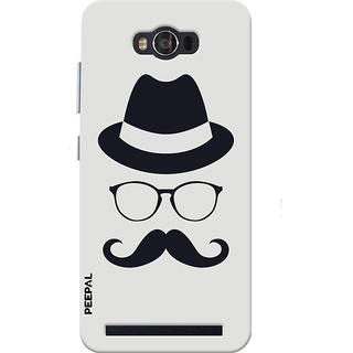 PEEPAL Asus Zenfone Max Designer & Printed Case Cover 3D Printing Gentelman Design