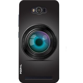 PEEPAL Asus Zenfone Max Designer & Printed Case Cover 3D Printing Mobile Camera Design