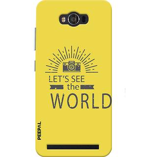 PEEPAL Asus Zenfone Max Designer & Printed Case Cover 3D Printing Photographers Life Design