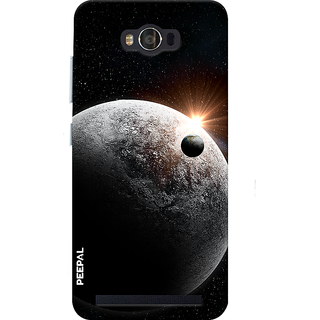 PEEPAL Asus Zenfone Max Designer & Printed Case Cover 3D Printing Solar Design