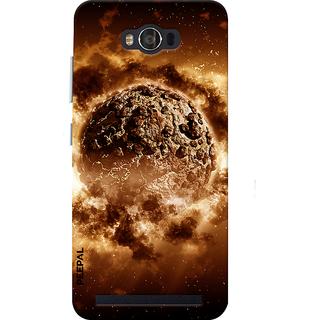 PEEPAL Asus Zenfone Max Designer & Printed Case Cover 3D Printing Warth In Solar Design