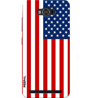 PEEPAL Asus Zenfone Max Designer & Printed Case Cover 3D Printing America Design