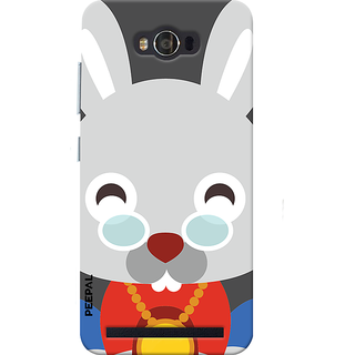 PEEPAL Asus Zenfone Max Designer & Printed Case Cover 3D Printing Happy Rabbit Design
