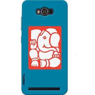PEEPAL Asus Zenfone Max Designer & Printed Case Cover 3D Printing Ganesha Design