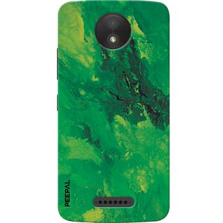 PEEPAL Motorola Moto C Plus Designer & Printed Case Cover 3D Printing Art Multi Colour Design