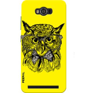 PEEPAL Asus Zenfone Max Designer & Printed Case Cover 3D Printing Gentelman Uloo Design