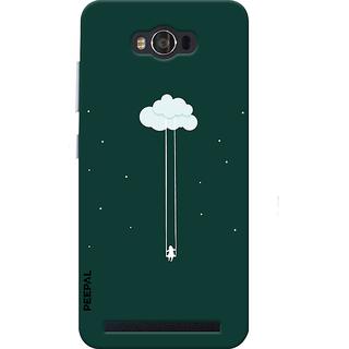 PEEPAL Asus Zenfone Max Designer & Printed Case Cover 3D Printing Hanging In Sky Design