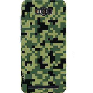 PEEPAL Asus Zenfone Max Designer & Printed Case Cover 3D Printing Military Design