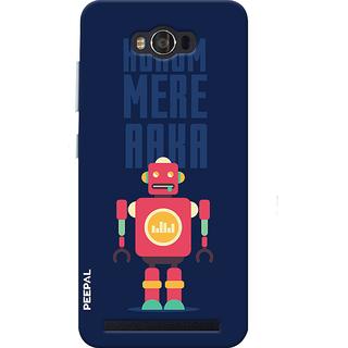 PEEPAL Asus Zenfone Max Designer & Printed Case Cover 3D Printing Cyborg Jinni Design