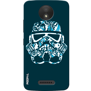 PEEPAL Motorola Moto C Plus Designer & Printed Case Cover 3D Printing Darth Vader Design