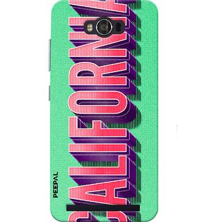 PEEPAL Asus Zenfone Max Designer & Printed Case Cover 3D Printing California Design
